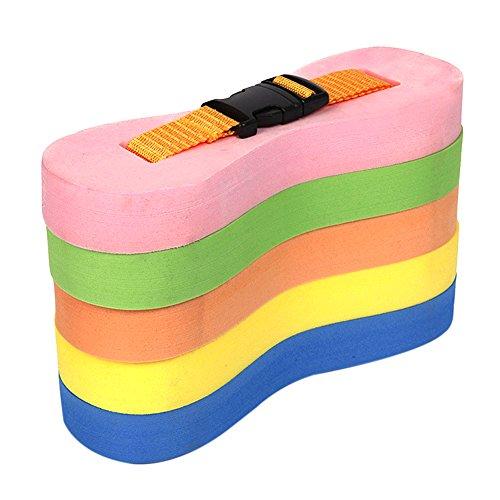 DesignerBox Kinderen/volwassenen Kleurrijke 5-laags EVA Schuim Zwemmen Trek Boei Been Float Backboard Riem Flutter Board Zwemmen Training Aid