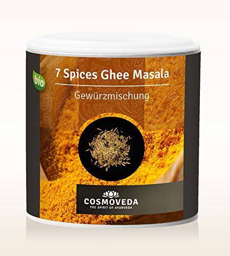 7 Spices Ghee Masala Bio DE-ÖKO-003 90g Dose