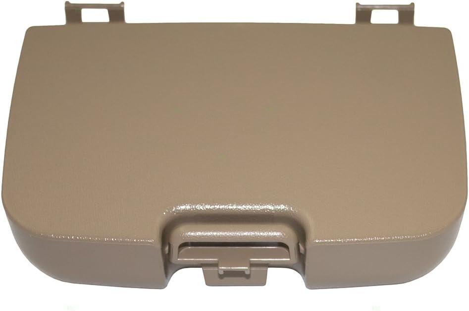 Set Tan Overhead SALENEW very popular! Console Sunglass Box Door Garage R Lid Weekly update Opener