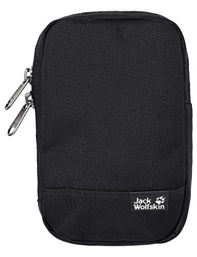 Jack Wolfskin Unisex– Erwachsene Gadget Pouch Tasche für elektronische Kleingeräte, Black, ONE Size