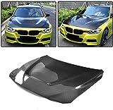 XBXDM Adecuado para BMW 3 Series F30 F31 F34 4 Series F32 F33 F36 2014-2018 Capó del Motor De Carbono