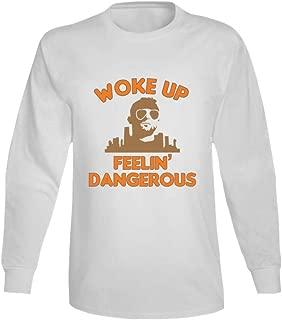 Baker Mayfield Woke Up Feeling Dangerous Cool Funny T Shirt