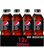 Pepsi Max Refresco De Cola Sin Azúcar, Botella, 12 x 500 ml