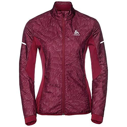 Odlo 370961 Veste Femme Rumba Red/Aop Fw18 FR : XL (Taille Fabricant : XL)