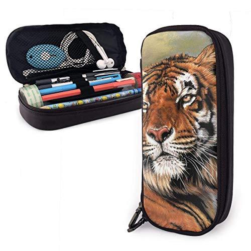 Cosmetic Bag,Bolso Lindo De La Pluma Del Tigre, Bolsos Cómodos Del Maquillaje...