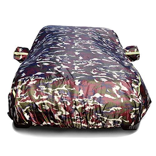Car Cover Compatibile con Audi A1 A2 A3 A4 Cotone Ispessimento del Velluto Mimetico Car Cover Resistente allo Strappo (Color : A4)