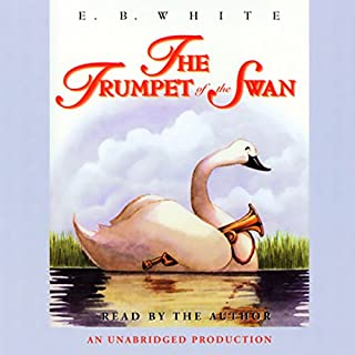 The Trumpet of the Swan audiobook cover art
