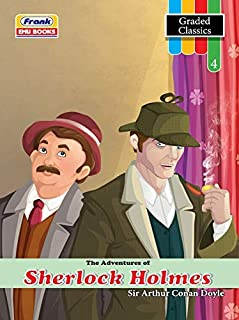 Frank EMU Books Graded Classics Story Book for Kids Age 11 to 12 Years - The Adventures of Sherlock Holmes - English Novel...