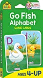 School Zone - Go Fish Alphabet Game Cards - Ages 4 and Up, Preschool to First...