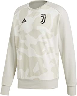 adidas Juventus 2019-20 Crew Neck Sweat Top - Camo-White 2XL