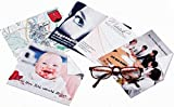 Brillenputztuch mit Foto & Text selbst gestalten und bedrucken lassen, 15x18 cm ✓ Individuelles Fotogeschenk ✓ Microfaser-Tuch | Brillentuch mit Motiv zum Reinigen & Putzen von Brillen, Displays & Objektiven | Reinigungstuch zum selbst gestalten