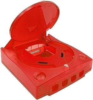 hgfcdd Pour SEGA Dreamcast DC Rétro Console de Jeu Vidéo Boîtes Transparentes Coque Plastique de Rechange Translucide