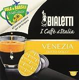 Bialetti 96080091/M Kaffee-Kapseln Venezia, Alu, 16 Stück
