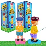 The Dreidel Company Squirt Wee Boy Set, Prank Gag ToysParty Favors, 7.5' Inch (2-Pack Set)
