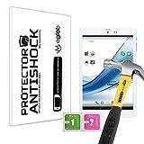 Protector de Pantalla Anti-Shock Anti-Golpe Anti-arañazos Compatible con Tablet Mediacom SmartPad 80 HD iPro