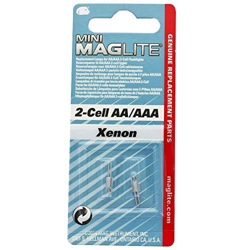 Mag-Lite Krypton-Glühbirnen, Mini AA/AAAI, 2 Stück