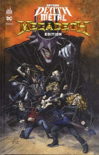 Batman Death Metal #1 Megadeth Edition , tome 1 / Edition spéciale, Limitée (Couverture Megadeth) (DC REBIRTH)