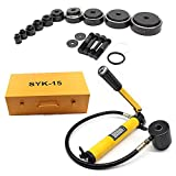 OUKANING idraulico buco Scavando strumento idraulico hole making Tool Range 16 – 101 mm a perforatrice punzonatrice idraulica 15T