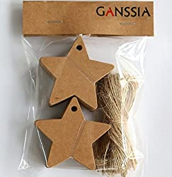Star Shape Hang Tag