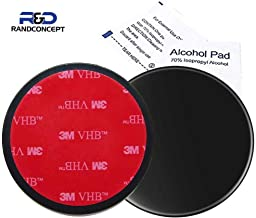 Randconcept - 95mm 3M VHB Adhesive Dashboard Pad Mounting Disk for Suction Cup Phone Mount & Garmin GPS Suction Mount   3.74
