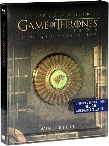 Game of Thrones Steelbook komplette Staffel 1 - EU IMPORT mit deutscher Sprache - mit Magnet