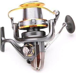 LLIIAYUK Carrete de Pesca Ultraligero de Alto Rendimiento Rueda de caída de Agua Brazo oscilante de Metal CNC Carretes suavizados-8000