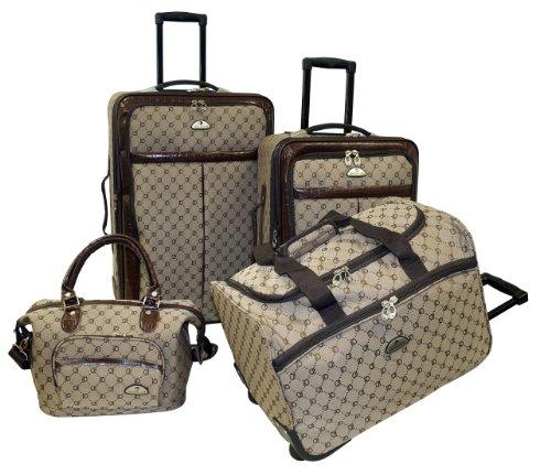 American Flyer Signature set de maletas 4piezas
