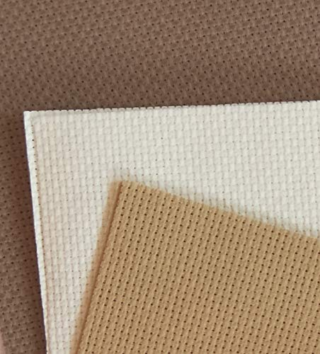Aida-Stoff, Baumwolle, Kreuzstich, 30,5 x 45,7 cm, 14 Ct, Naturfarben + Beige, Braun + Khaki, 3 Stück