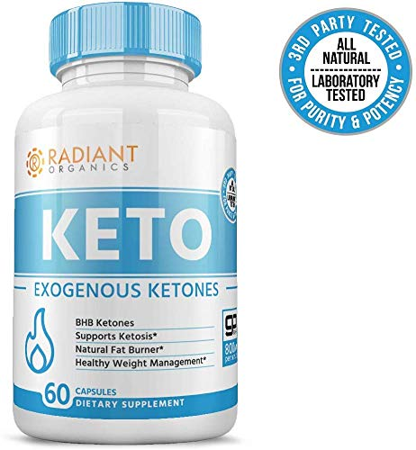 Keto Pills for Weight Loss | Best Exogenous Ketones Supplement | Appetite Suppressant for Women & Men | Reach Ketosis Fast | All Natural | 60 Count 3