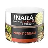 !Nara Cosmética natural orgánica Crema de Noche 50 ml crema facial enriquecida contra el enrojecimiento para pieles secas sensibles con efecto calmante antiinflamatorio - sin parabenos