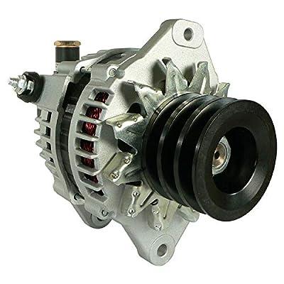 DB Electrical AHI0145 Alternator Compatible With/Replacement For Hitachi Isuzu Truck Lr1110-501 8972482970 Heavy Duty 12 V 110 Amp LR1110-501BAM LR1110-501BR 97729118 LR1110-501 2902768400 8972482970