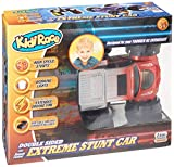 Kidirace RC Stunt Car 360 Degree Spinning and Flips, Double Sided, Red