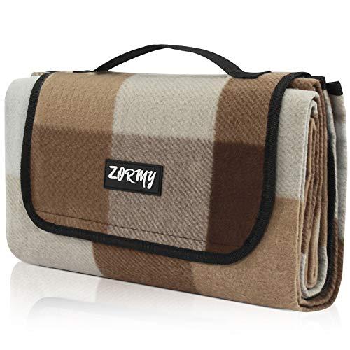 ZORMY - Manta de picnic grande impermeable para playa