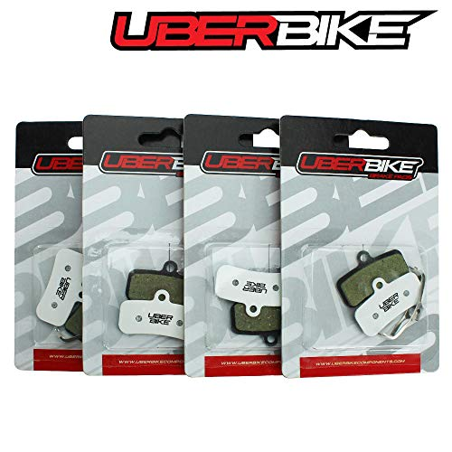 Uberbike Shimano New Saint M810-M820/ Zee M640 Race-Matrix - Pastillas de Freno (4 Pares)