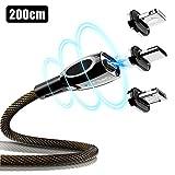 Cafele 3 in 1 Magnetisch Kabel USB