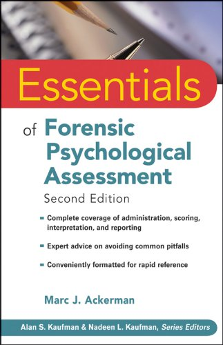 Essentials of Forensic Psychological Assessment