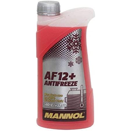 Mannol 3 X 1l Pemco Antifreeze 912 40 Kühlerfrostschutz Fertiggemisch G12 Rot Auto