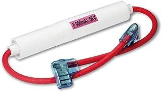 Haude 5 Piezas de 6x40mm Vidrio Axial 800mA 0.8A 5KV Tubos de Fusibles para Horno de miniondas