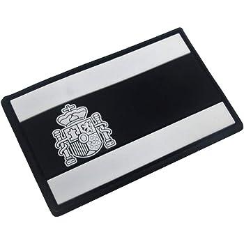 SimpleMfD - Parche bordado con insignia de bandera de España para ...