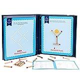 Aibecy Matchstick Puzzle Concentración Entrenamiento regalo Juguete de lógica matemática Juego de mesa STEM para niños y niñas a partir de 3 años