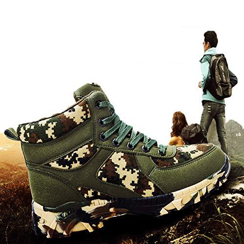 Waterdichte militaire laarzen voor heren Commando Outdoor Desert Tactical Boots Combat Boots   Winter Outdoor wandelschoenen,Green,42