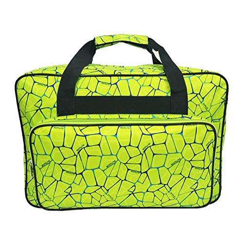 Kinnart - Bolso de Mano para Mujer, de Nailon, portátil, para Viaje, para máquina de Coser, Bolsa de Equipaje, Nailon, Verde, Large