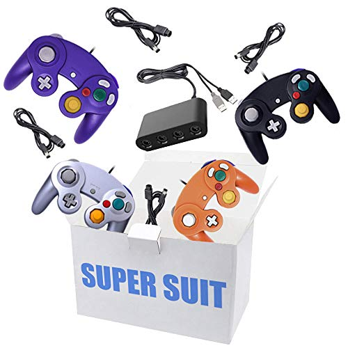 King Smart 4 Pack Gamecube Contr...