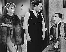 Erthstore The Amazing Dr. Clitterhouse Humphrey Bogart Claire Trevor E Robinson 11x14 inch B&W Photograph