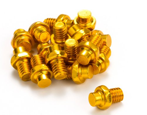Reverse Escape Pedal Pin Set Alu Gold