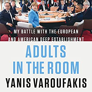 Adults in the Room audiobook cover art