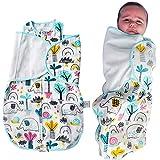THE YELLOW SANITIZER CAPSULA SANITIZANTE Baby Sleep Nest, Saco de Dormir, Manta portátil para Dormir, Capullo de Descanso, Nido para Bebe, mantén a tu Bebe calientito (Elefantes)