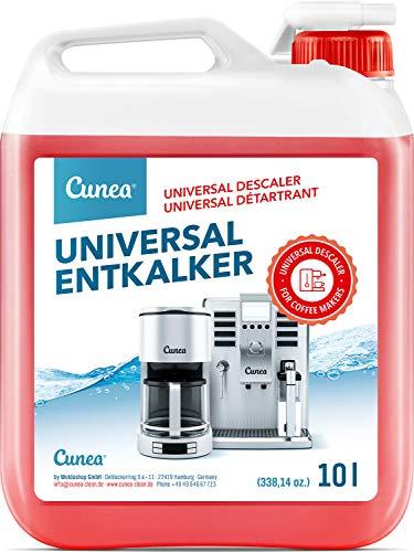 Entkalker für Kaffeevollautomat & Kaffeemaschine - 10l mit Farbindikator