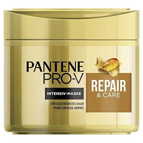 Pantens Pro-V Repair & Care haarmasker, 300 ml, haarkuur droog haar, haarkuur, haarverzorging droog haar, haarverzorging voor droog haar, haarverzorging glans, voor beschadigd haar, goud