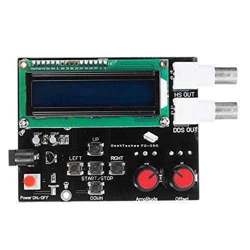 ILS - DDS Módulo de generador de señal de funció Señal de Onda de Diente de Sierra Cuadrada sinusoidal